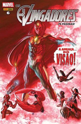 Os Vingadores - Edição 6 - A Ameaça do Visão!