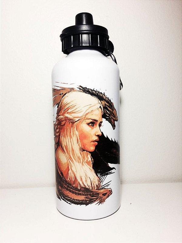 Game Of Thrones - Squeeze de alumínio + Brinde Secreto