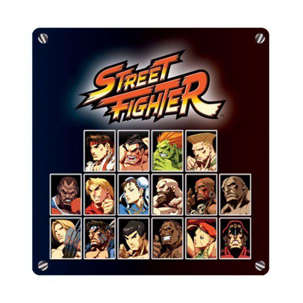 Porta Retrato 3x4 Select Player Street Fighter