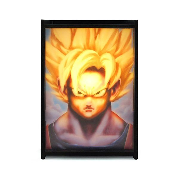 Luminária Super Saiyajin (Dragon Ball)