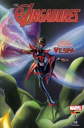 Os Vingadores - Edição 11 - Surge Uma Nova Vespa