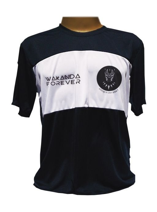 Camiseta Esporte - Wakanda Forever Pantera Negra (DryFit)