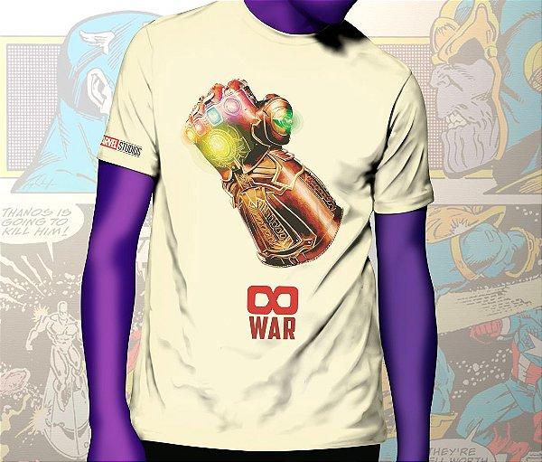 Camiseta Guerra Infinita - Marvel Infinity War