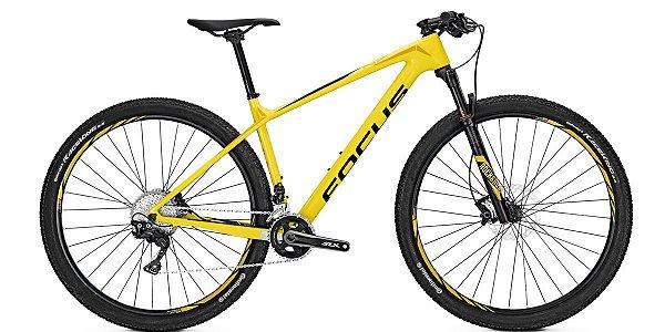 Bicicleta Mtb Focus Raven Elite 29 22v Amarela 2017 Tamanho M
