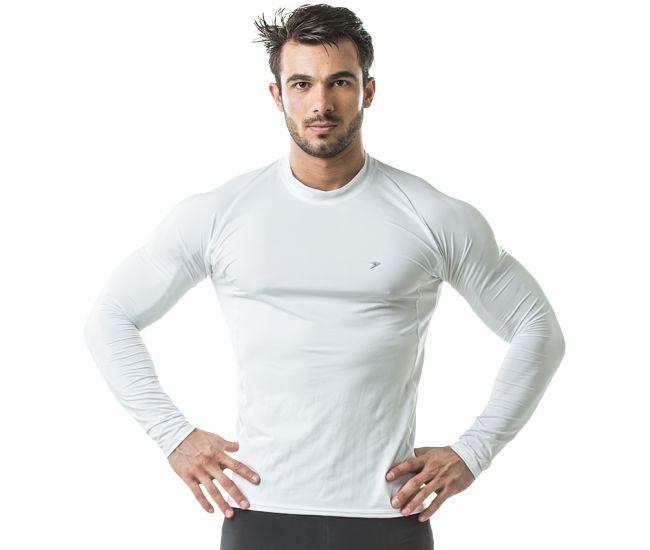 194bc44c6bde2 Camisa Térmica Poker Skin Basic II Manga Longa proteção UV +25 Segunda Pele
