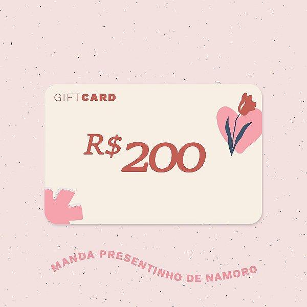 Gift Card R$200