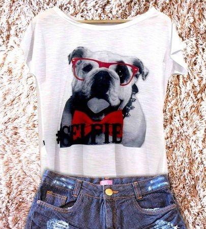 T-Shirt Bulldog Inglês