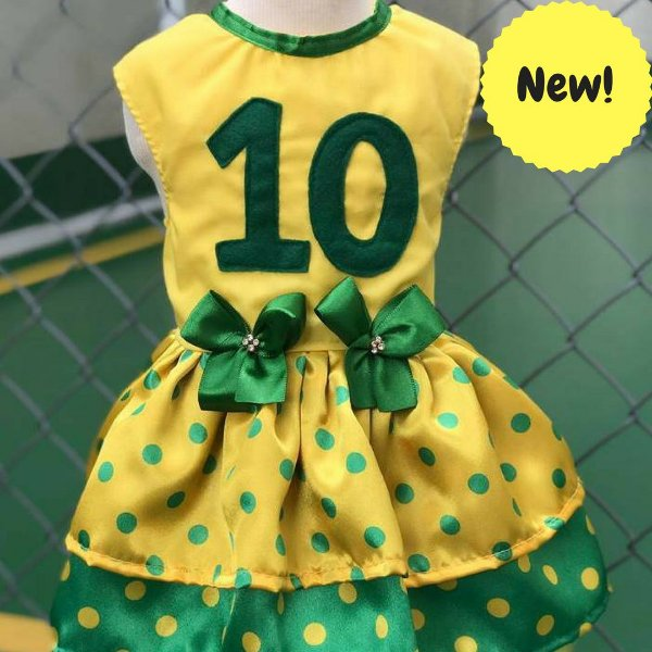 Vestido Brasil - Copa do Mundo