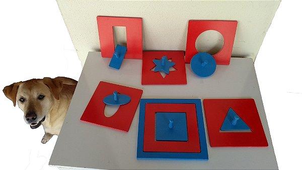 Formas Metálicas - Brinquedos Montessori