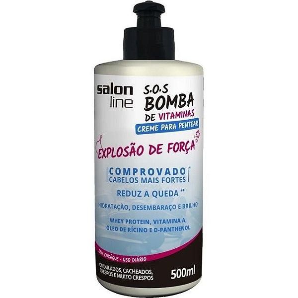 Creme para Pentear SOS Bomba 500ml
