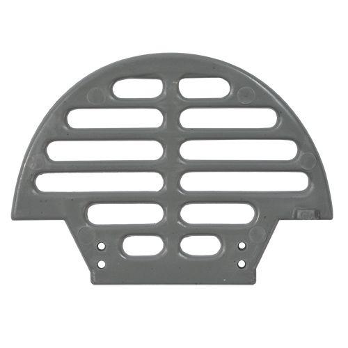 Passarinheira Individual onda alta cinza 50 peças com pregos para fixação -  Sândalo
