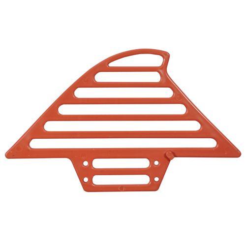 Passarinheira Perkus / Terracota cerâmica - 50 unid. com pregos para fixação