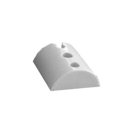 Calço Onda baixa Branco - 3 furos