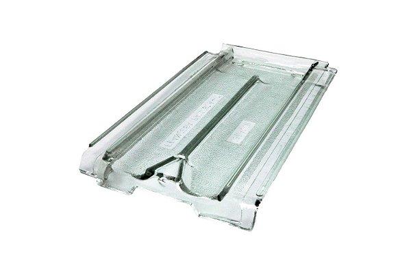Telha de vidro Francesa Paulista - Ibravir  ***Não fazemos entrega