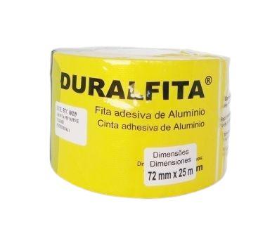 Fita Adesiva Alumínio Duralfita 7,2cm x 25m