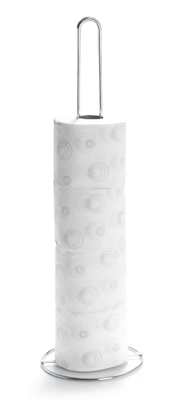 Porta Papel Higiênico Simples Branco