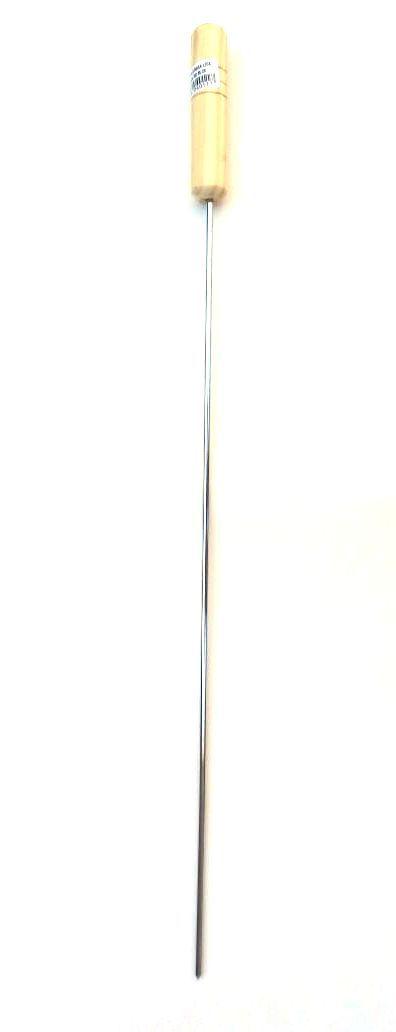 Espeto Simples Médio 65cm Cromado