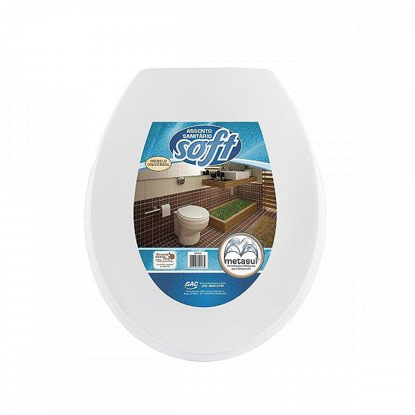 Assento Sanitário Soft Metasul