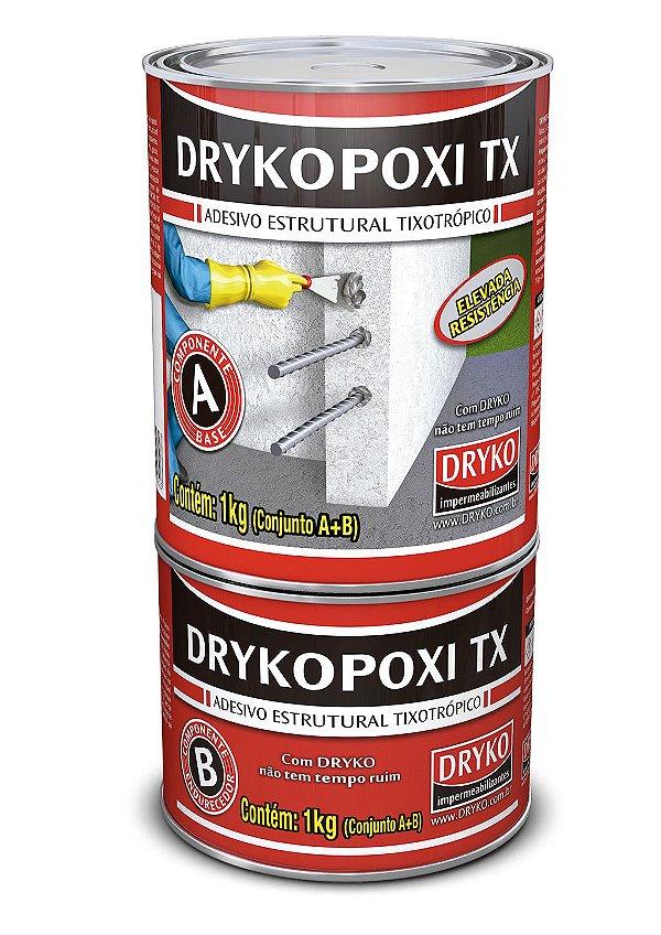 Adesivo estrutural Drykopoxi TX 1Kg