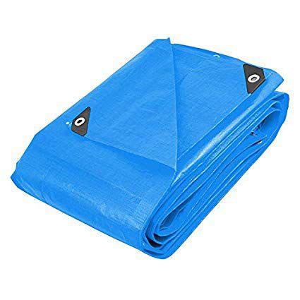 Lona Carreteiro Polietileno Azul Reforçada - 5x4M Beltools