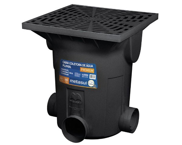 Caixa Coletora de Água Pluvial Premium Grande