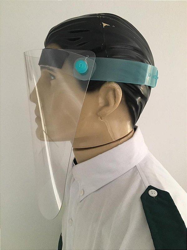 Máscara Para Proteção Facial Viseira Plástica