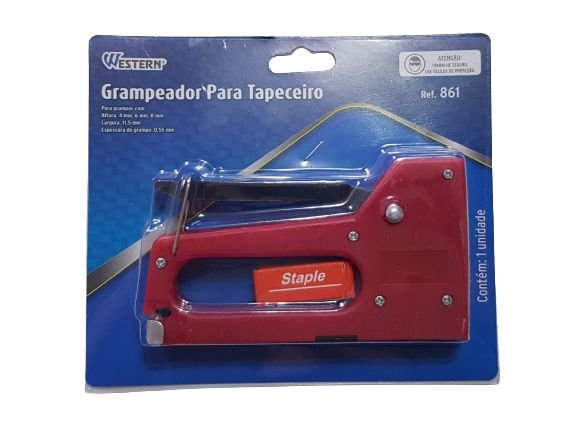 Grampeador Tapeceiro 861 - Western