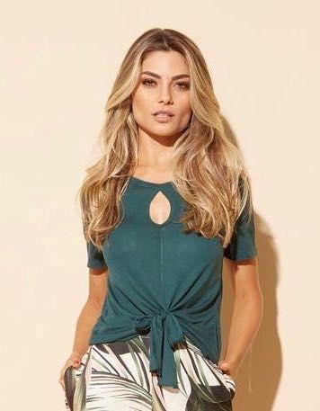Blusa podrinha verde