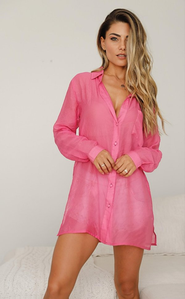 Camisa musseline pink