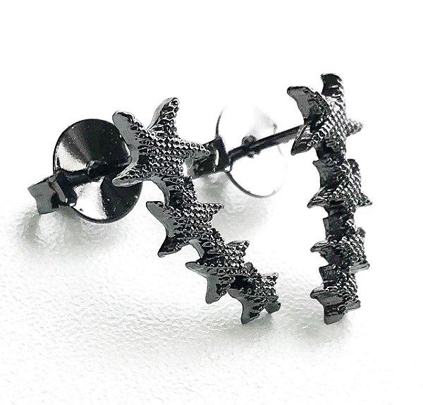 Brinco Ear Cuff Estrelas