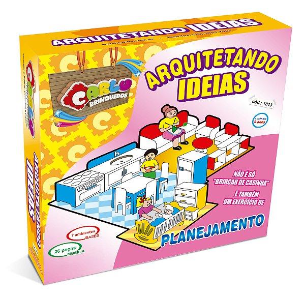 Arquitetando ideias - MDF - 45 pc - Cx. papel