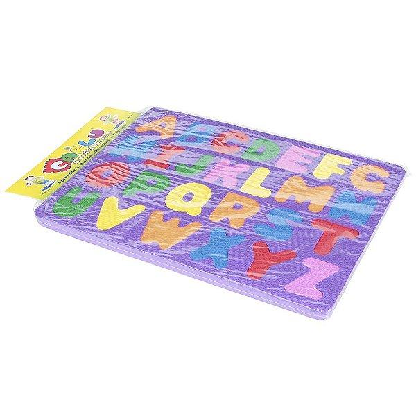 Alfabeto prancha em EVA - Emb. plast.