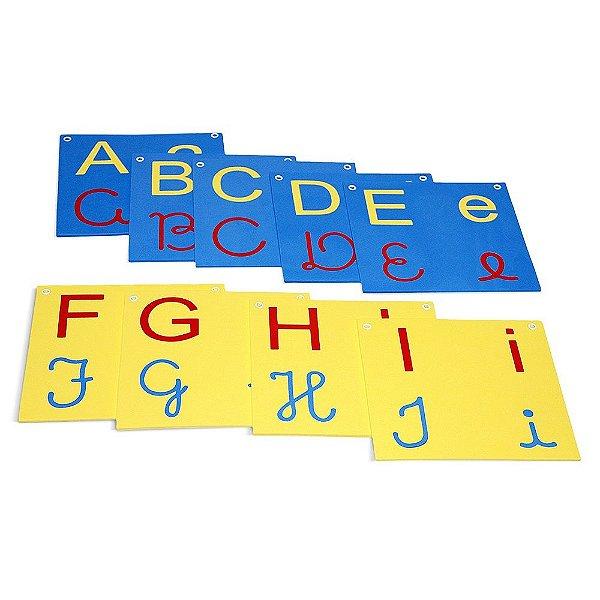 Varal de letras/Alfabeto 4 em 1 em EVA com 26 pecas - PVC enc.