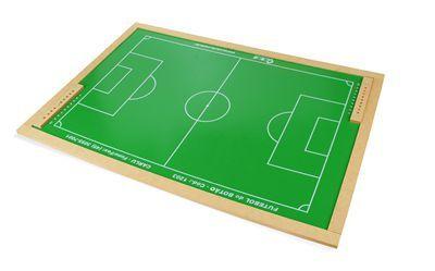 Futebol de botao em MDF - Cx. papelao