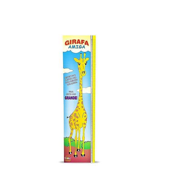 Regua girafa amiga em MDF - Cx. papelao