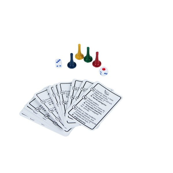 Jogo cobras e escadas educativo - MDF -64 pç - Emb. c/ zíper