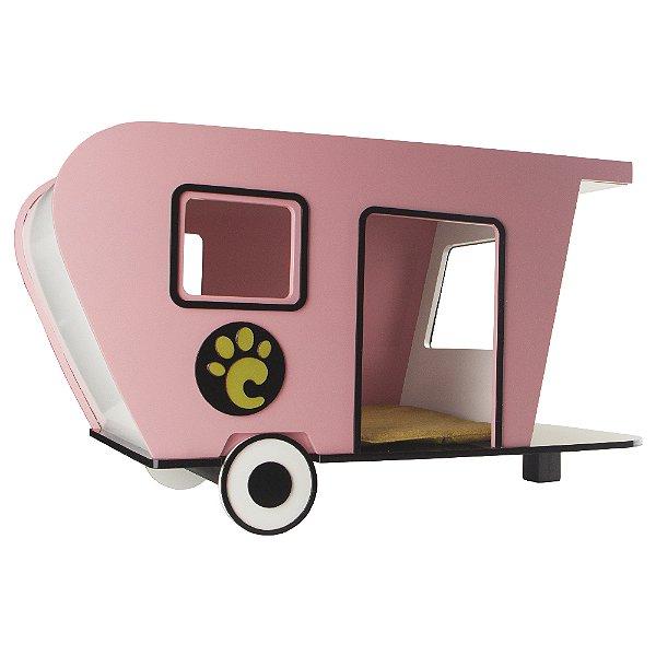 Carlu Pet House - Trailer Rosa