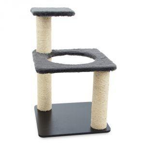 Carlu Pet House - Arranhador Ring Cinza