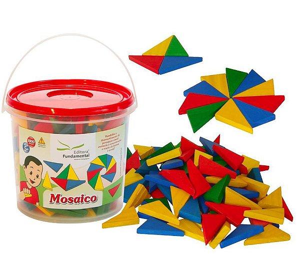 Mosaico - Balde c/ 240 peças