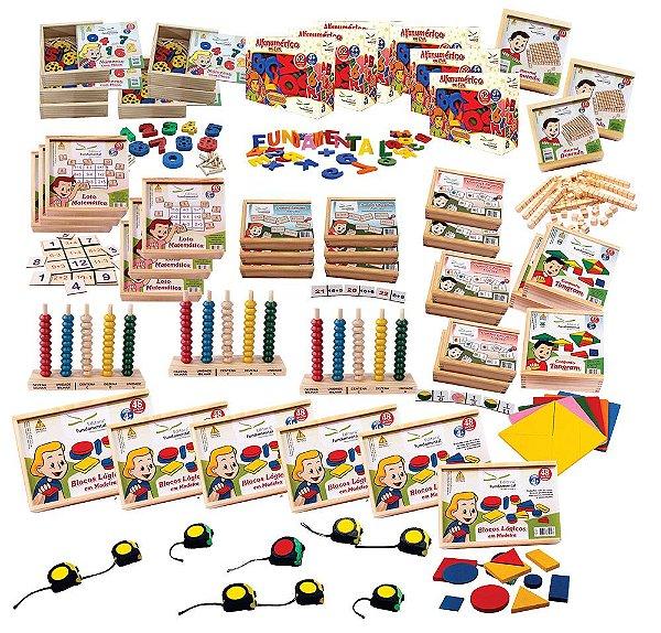 Kit MEC Matematica (FNDE  – 55 Produtos