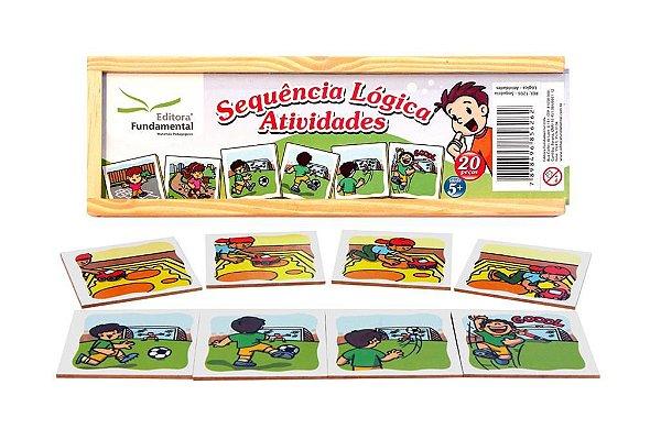 Sequencia Logica - Atividades  - Cx c/ 20 peças.