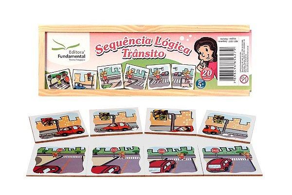 Sequencia Logica - TrAnsito - Cx c/ 20 peças.
