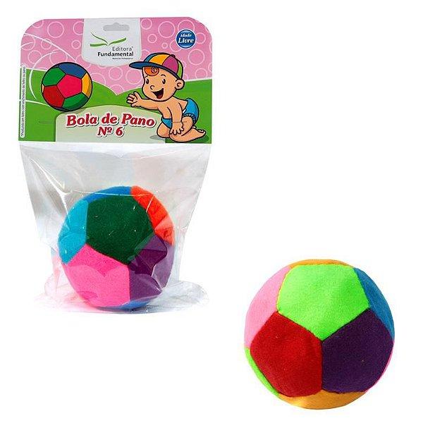 Bola de Feltro Infantil Nº06 Diametro 90mm