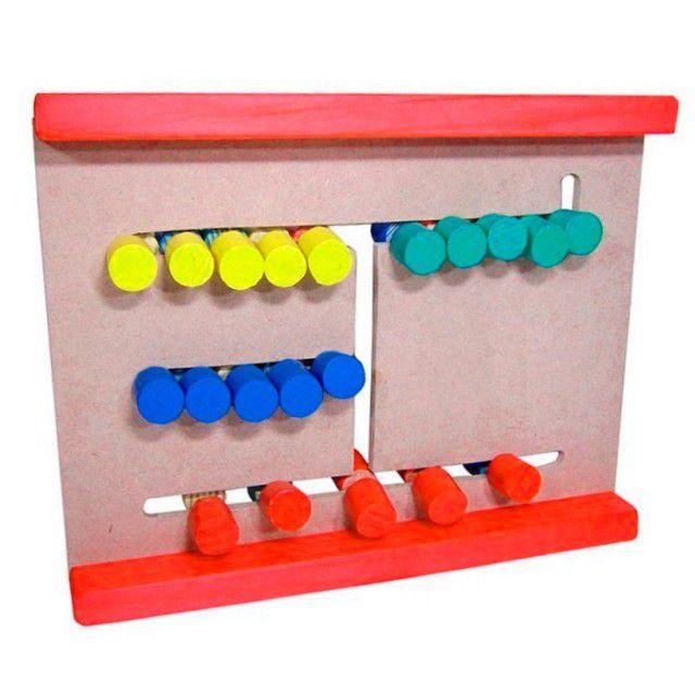 Brinquedo Educativo Jogo Passa Cores