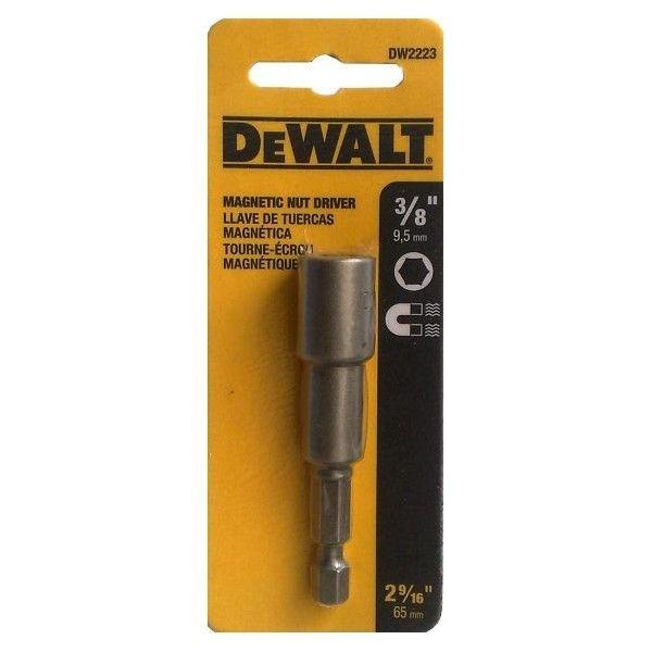 """Soquete magnético encaixe 3/8"""" DW2223 - Dewalt"""