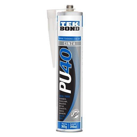 Adesivo Poliuretano PU40 Cinza - TeKBond