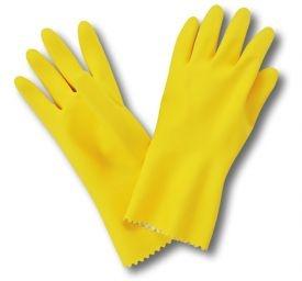 Luva Latex amarela Kalipso