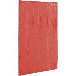Cortina de proteção para solda laranja 1,22m x 1,78m Vonder