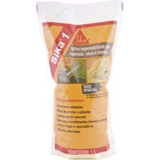 Aditivo impermeabilizante 1 litro SIKA