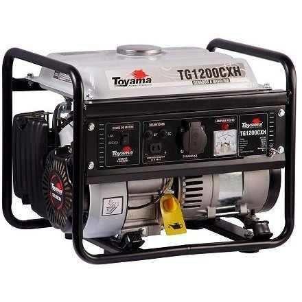 Gerador De Energia 4t Gasolina 1000w 127v Hobby -  Toyama